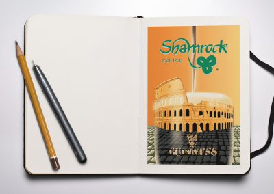 Illustrazioni-Shamrock-Irish-Pub-Roma